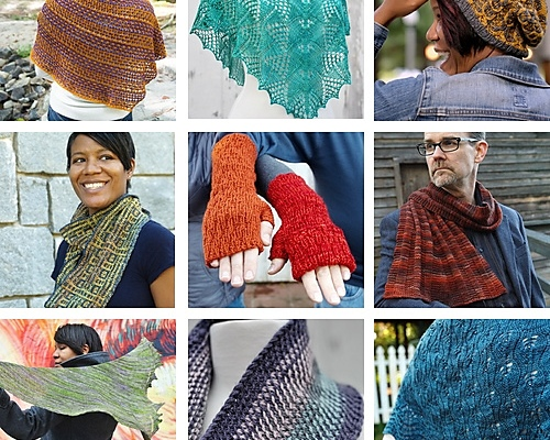 Designer Interview: Barbara Benson, designer of unexpected combinations of knitting techniques.