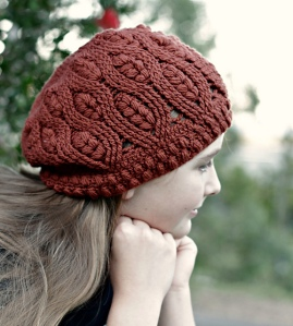 Designer Interview: Sarah Jane's frostberry hat