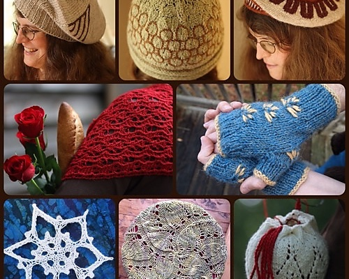 My designs that are on sale for the 2014 Giftalong on Ravelry.