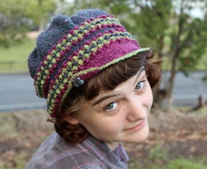 Designer Interview: Sarah Jane's lingonberry tam