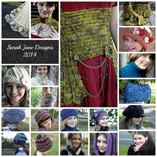 Designer Interview: Sarah Jane, crochet designer of nifty things.