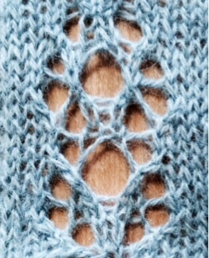 Étude no 6: version 1. Free stitch pattern.