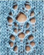 Étude no 6: version 2. Free stitch pattern.