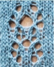 Étude no 6: version 2. Free stitch pattern.