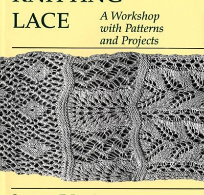 Knitting Lace, by Susanna E. Lewis.