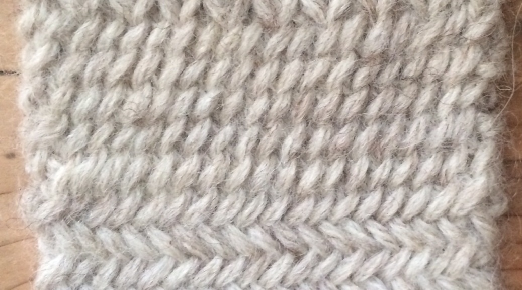 twice-knit knitting, a much-overlooked technique