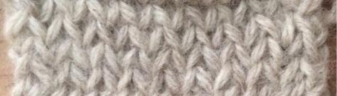 Twice-knit knitting variation