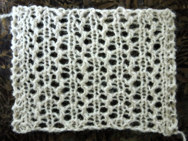 Have you seen this stitch pattern before?
