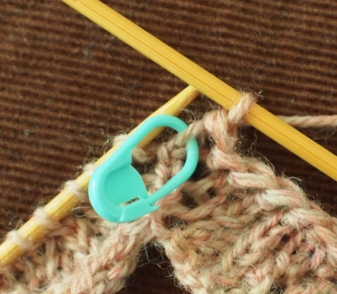 Centering a picot over a single stitch instead of the space between two stitches.