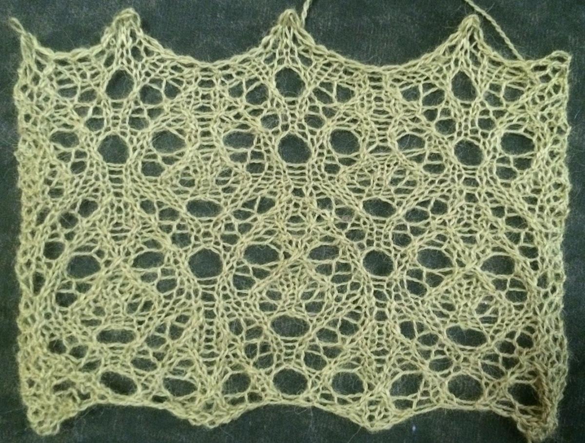 Easy Knit Lace Stitch Patterns: Knitting stitches new stitch a day ...