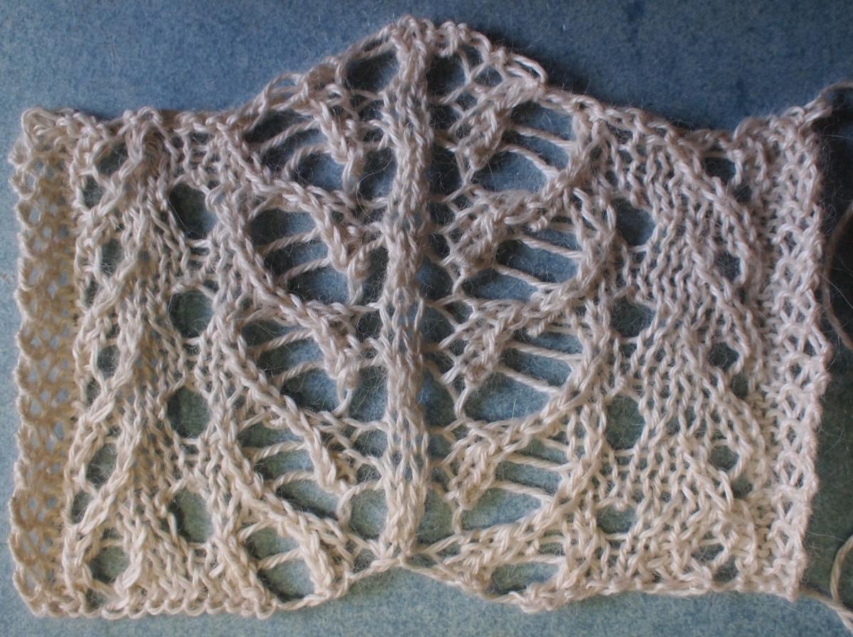 Knitting Stitch Pattern Index : Iceberg: a free lace knitting stitch pattern   String Geekery