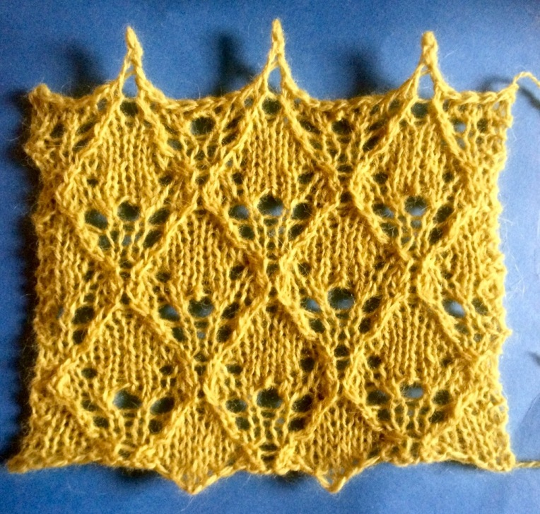 Happy 2016 A Free Lace Knitting Stitch Pattern String Geekery
