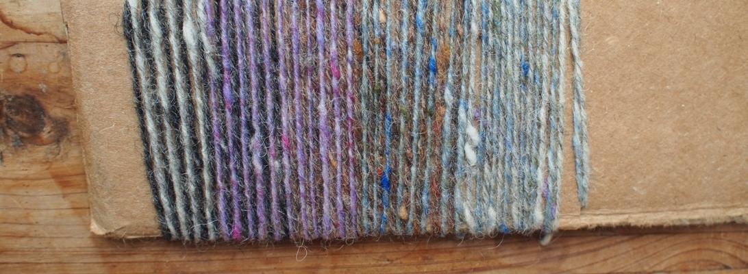 Yarn wrapping