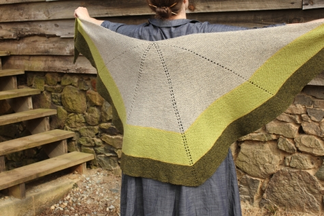 Sycamore Creek shawl
