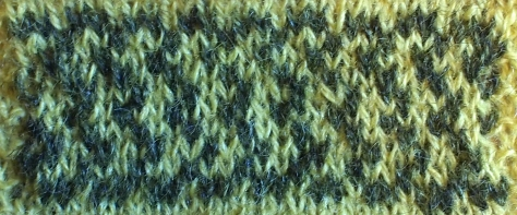 KIP: a free colorwork chart for World Wide Knit in Public Day