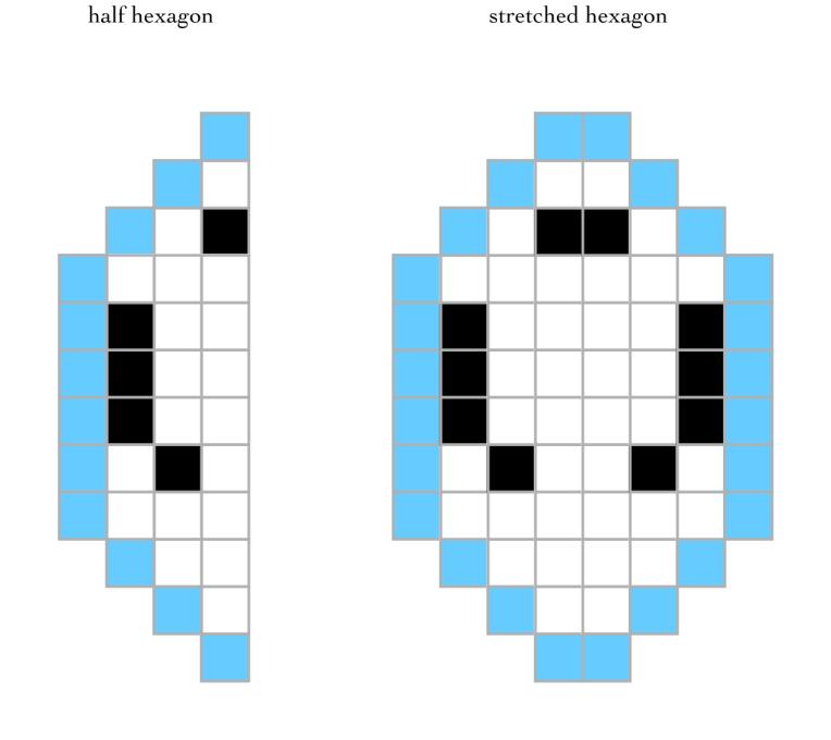 peace hexagons 1