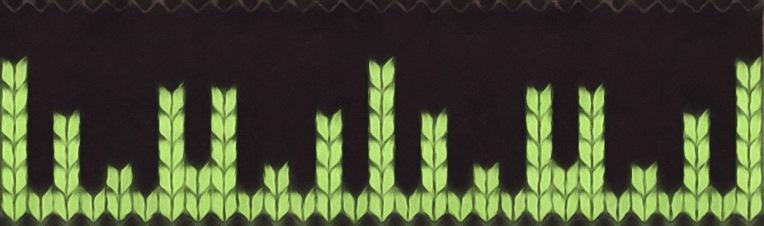 meta Lace: a free needlework chart