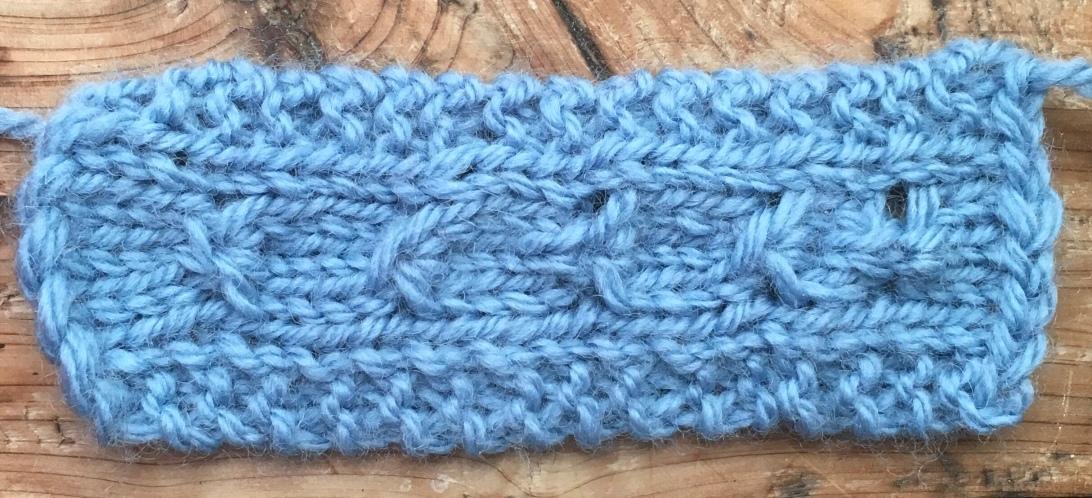 Gather together: permutations of a knitting stitch.