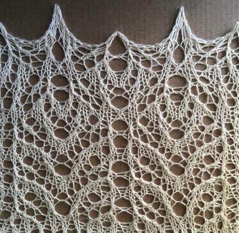Unicorn: a free lace knitting pattern by Naomi Parkhurst