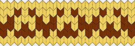 Myth: a needlework chart for any craft