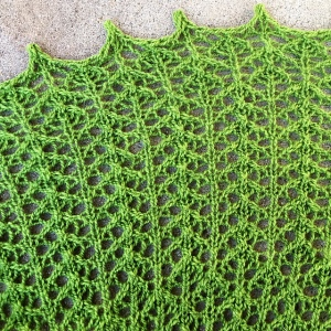 Arrowleaf: a crescent shawl by Naomi Parkhurst
