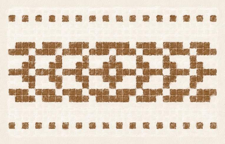 Glacier: a free needlework chart for any craft