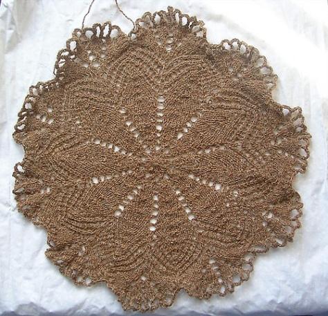 Medallion from Handmade Lace & Patterns, by Annette Feldman