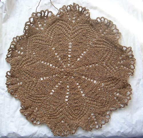 Medallion from Handmade Lace & Patterns, by Annette Feldman