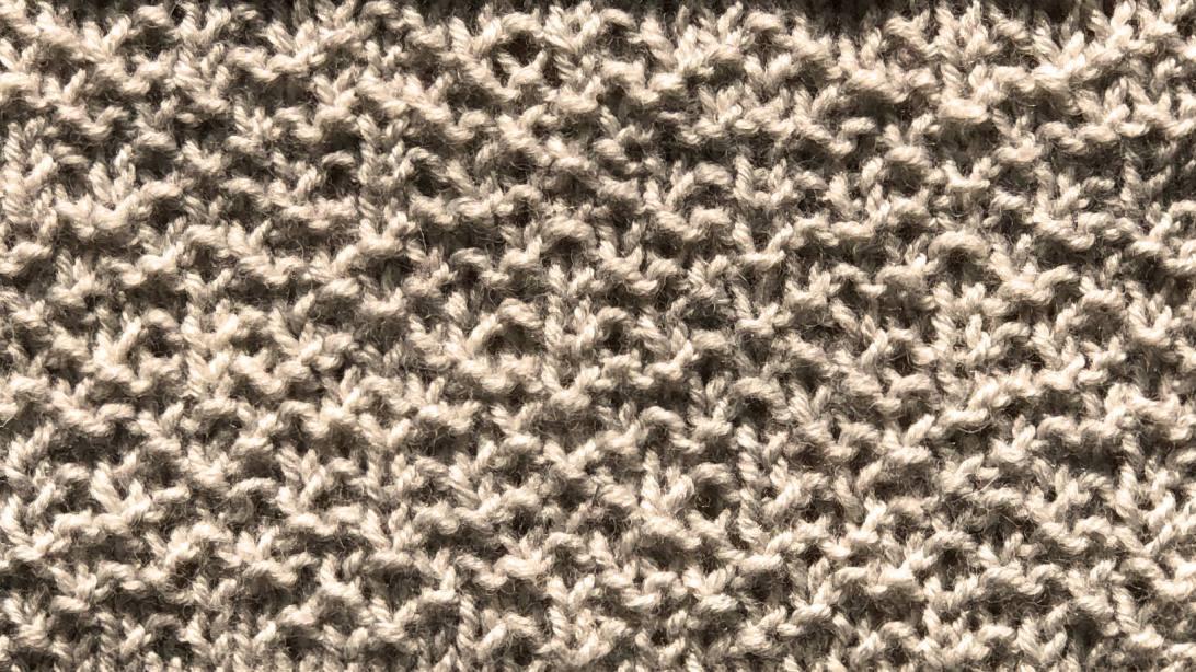 Doodle, the knit/purl version