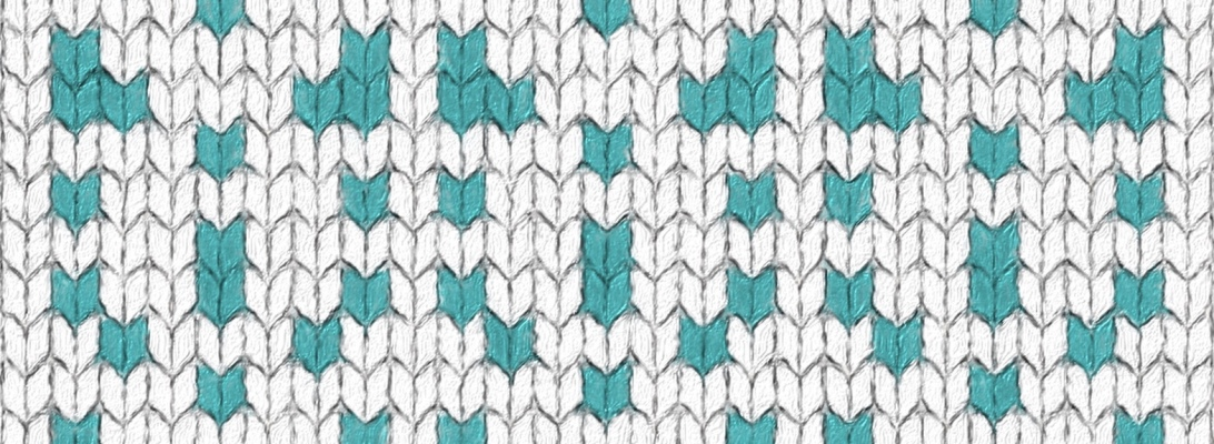 Frond: a free needlework chart for any craft, by Naomi Parkhurst