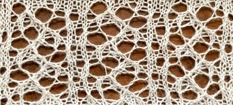 Make: a free lace knitting stitch pattern, by Naomi Parkhurst