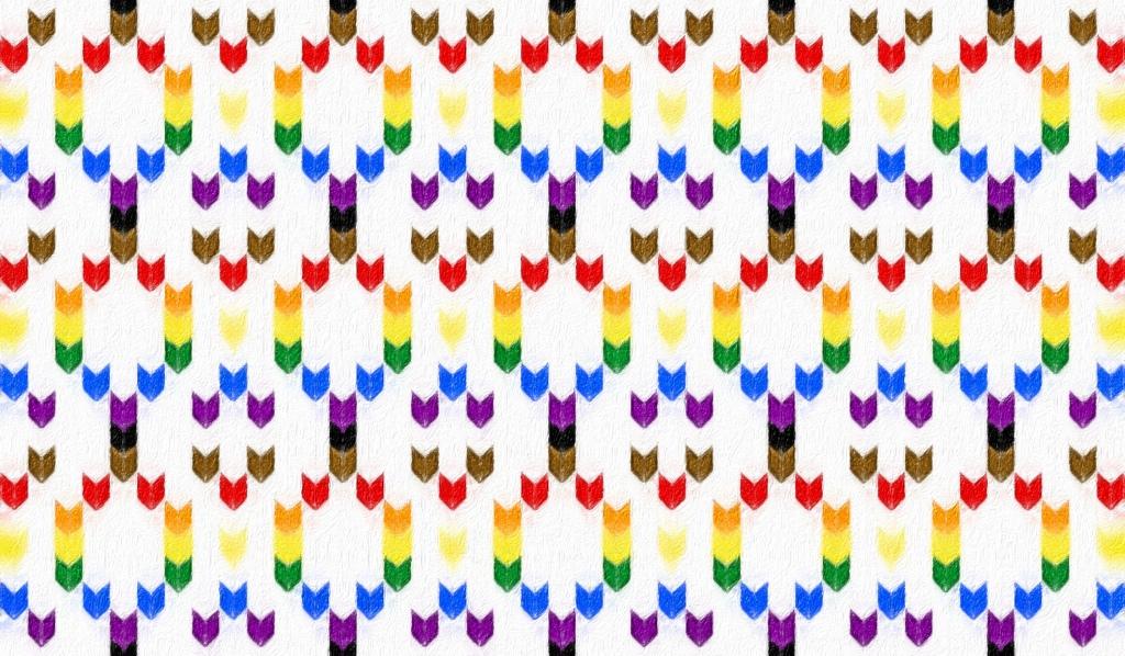 Pride: a free needlework chart, by Naomi Parkhurst