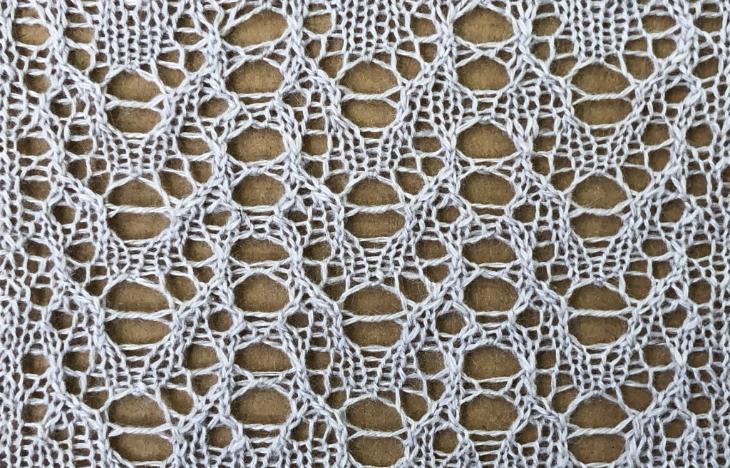 Pride: a free lace knitting stitch pattern, by Naomi Parkhurst