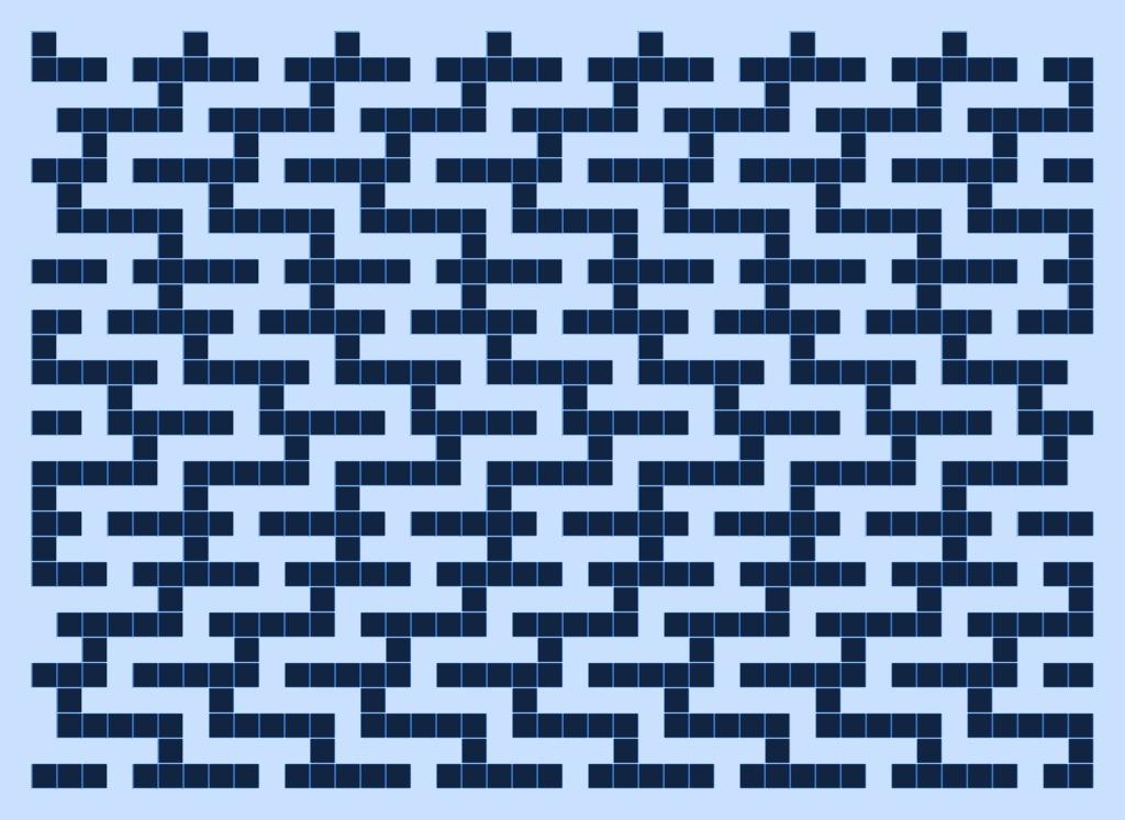 Water version 1: a free mosaic knitting stitch pattern, by Naomi Parkhurst