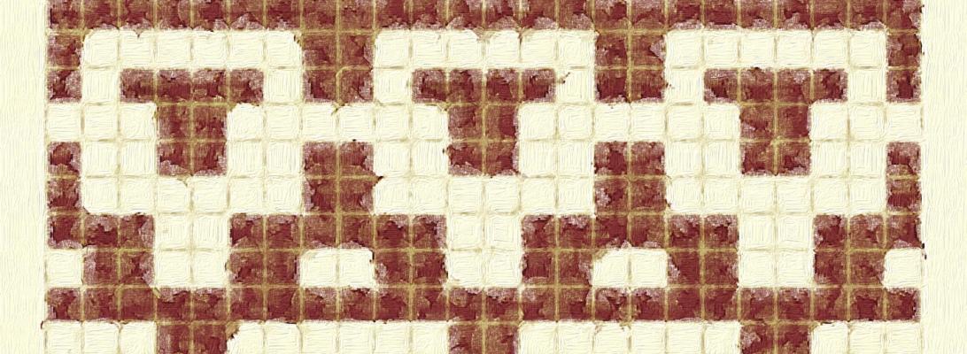 Union: a mosaic knitting chart, by Naomi Parkhurst