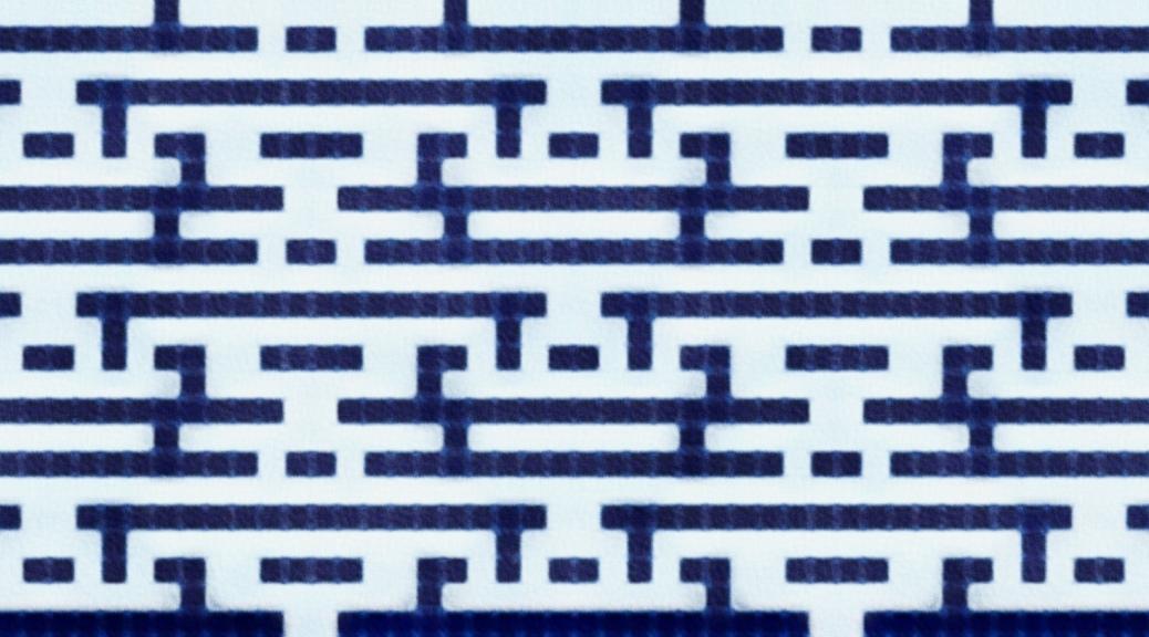 Frost: a mosaic knitting stitch pattern, by Naomi Parkhurst