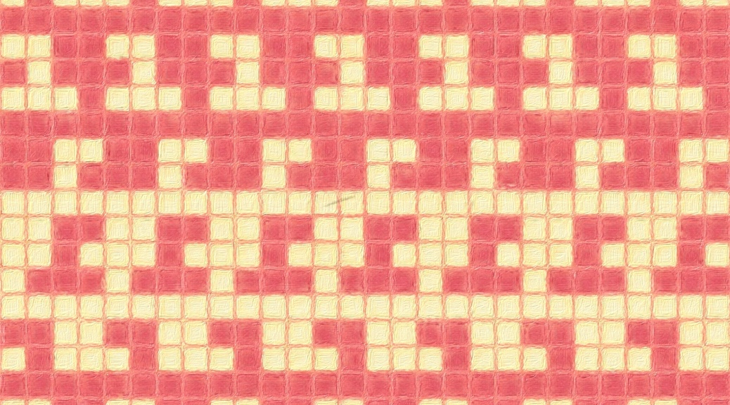 sample image for Apple: a mosaic knitting chart, by Naomi Parkhurst
