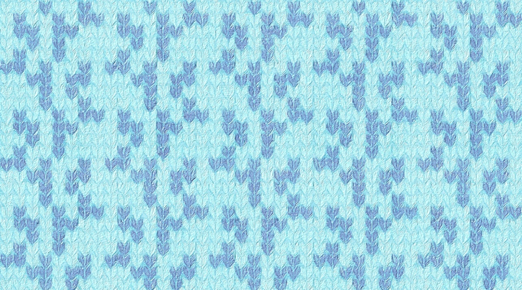 Sample image showing Icicle as an allover pattern