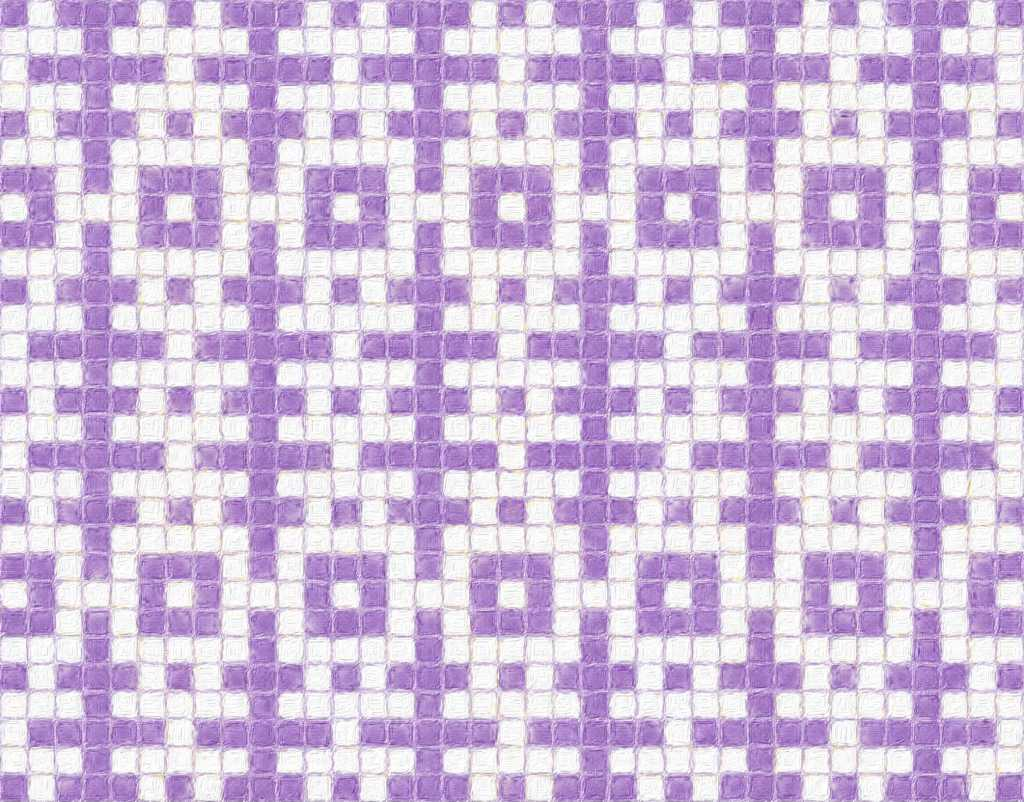 sample image showing how Rune mosaic knitting, version 2, works as a design.
