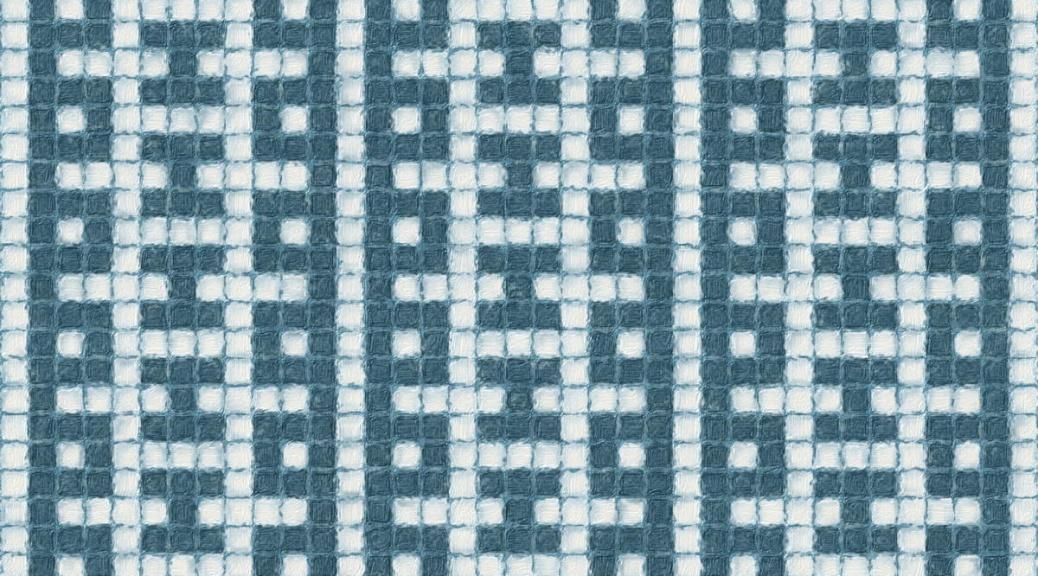 image showing how Dusk mosaic would look as an allover pattern.